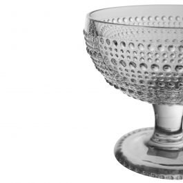 Cup Stemmed Glass Bowl