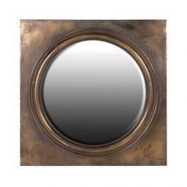 Antique Finish Mirror in Square Frame