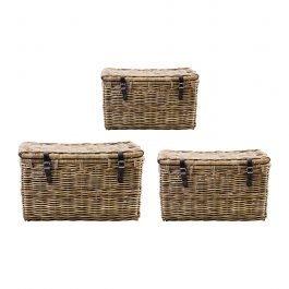 Small Rattan Basket Trunk