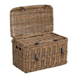Medium Rattan Basket Trunk