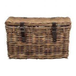 Large Rattan Basket Trunk
