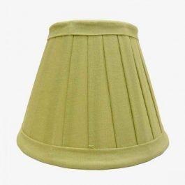 Light Green Cotton Lampshade