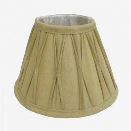 Beige Silk Clip Lampshade