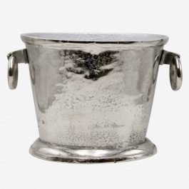 Silver Oval Champagne Cooler