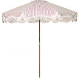 Lauren's Pink Stripe Market Umbrella