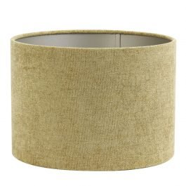 Smaller Fancy Gold Cylinder Shade