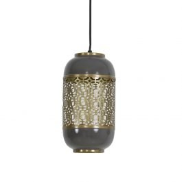 Rohut Dark Grey Hanging Lamp