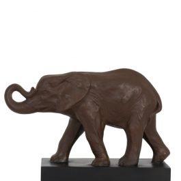 Antique Brown Elephant Ornament