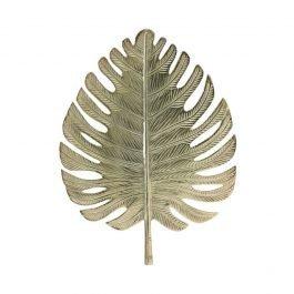 Golden Leaf Wall Ornament