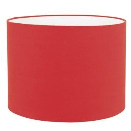 Red Cotton Lamp Shade